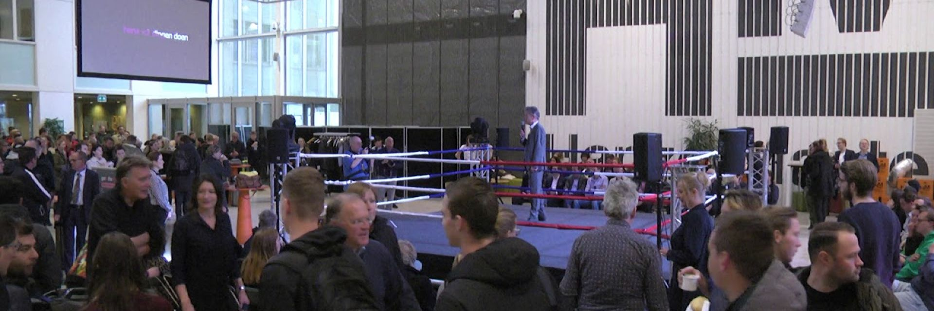 Get In The Ring - Politiek debat