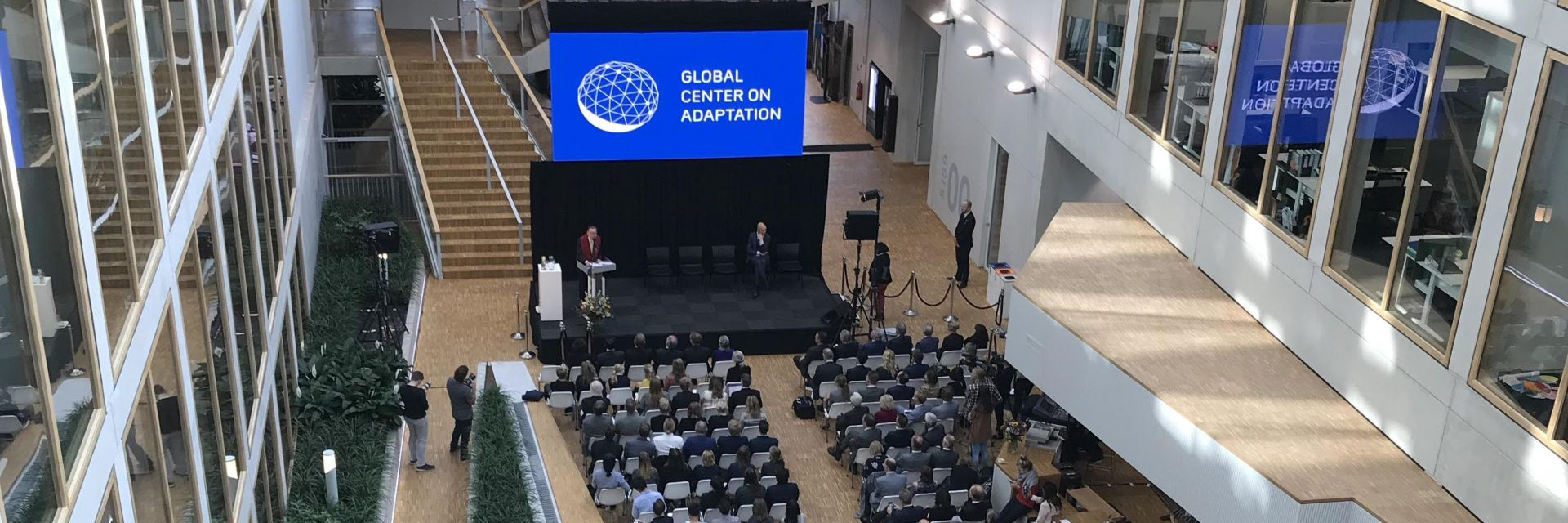 Ban Ki-moon opent Global Center op Zernike Campus
