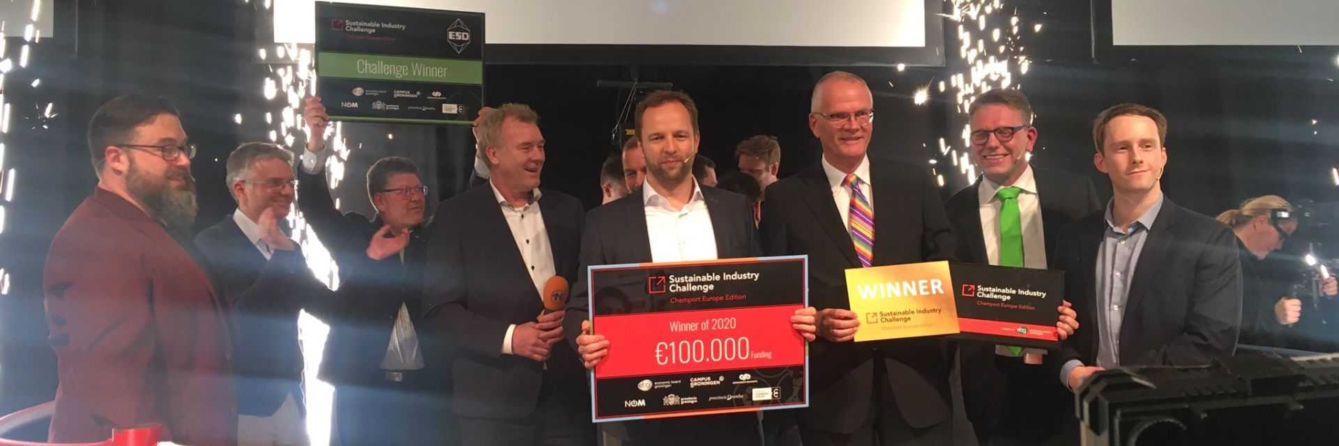 CFK Recycling from Germany wins the Sustainable Industry Challenge 2020