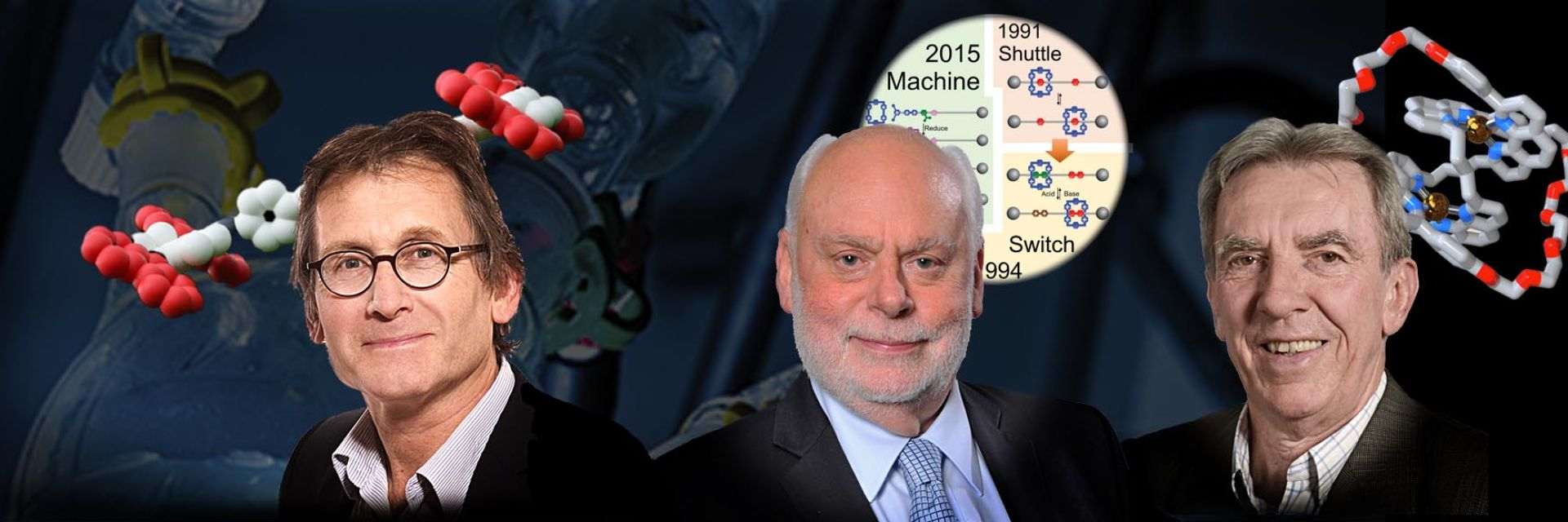 Molecular Machines Nobelprijs conferentie