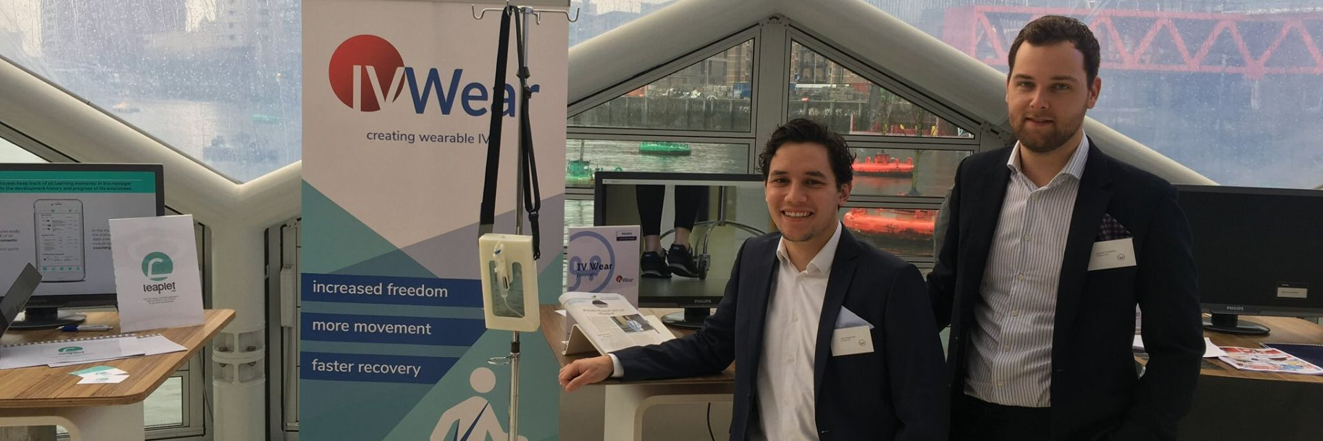 Start-up IVWear in finals Philips Innovation Award