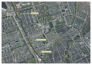 Cycle path Zernike Route West partially closed 25 March - begin May