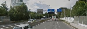 Southern ring road partially closed at night on 15-17 June in nachten 15-17