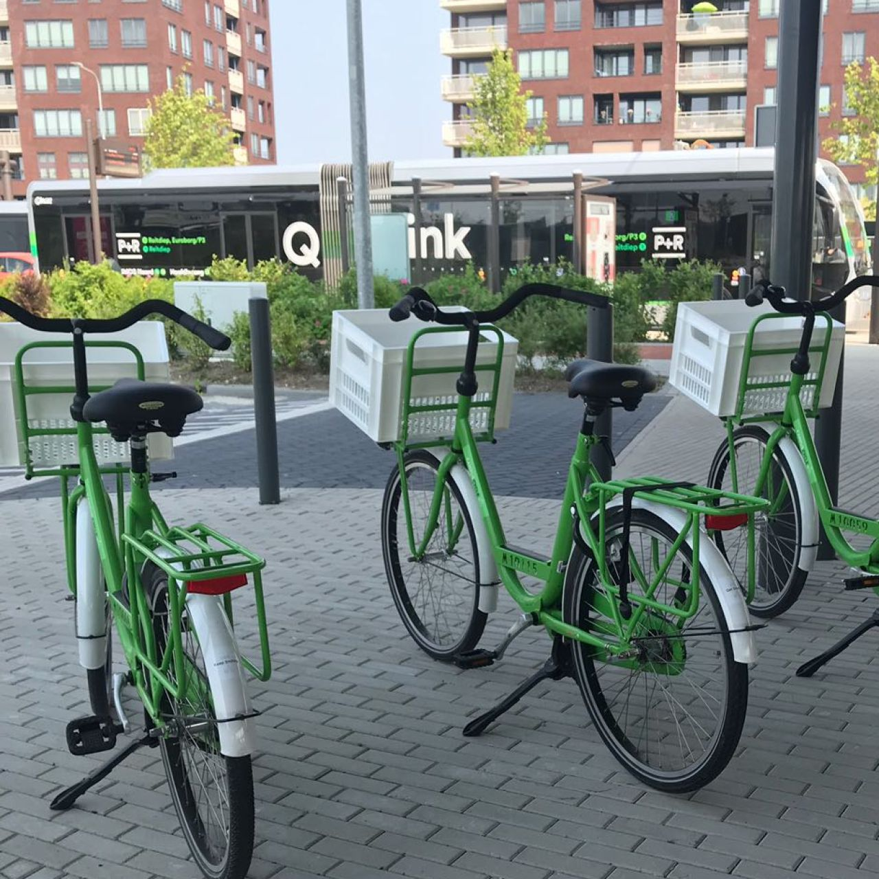Campus Cycle: shared bikes on P+R Reitdiep
